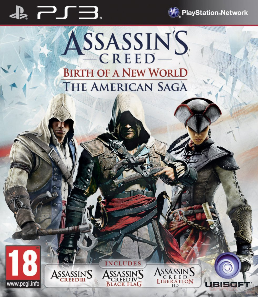 Assassin's Creed American Saga PEGI PS3
