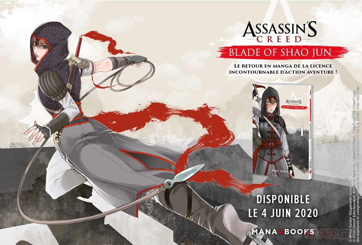 Assassin S Creed Blade Of Shao Jun Le Manga Sur La Disciple