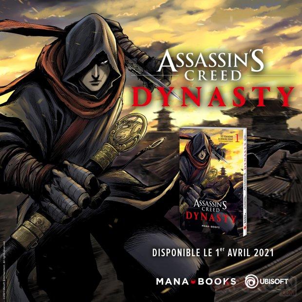 Assassin's Creed Dynasty Mana Books