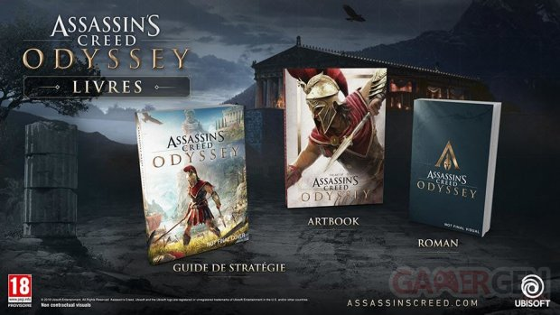 MAJ - Assassin's Creed Odyssey : trois ouvrages annoncés ...
