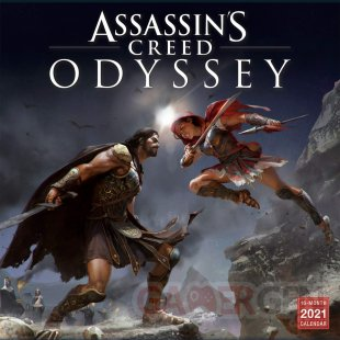 Assassin's Creed Odyssey calendrier 2021 01 05 05 2020