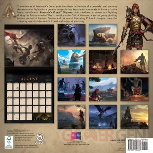 Assassin's Creed Odyssey calendrier 2021 02 05 05 2020