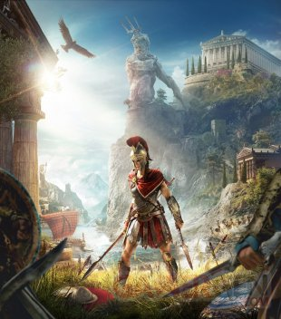 Assassin's Creed Odyssey jaquette Kassandra 10 08 2018