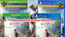 Assassin's Creed Odyssey NePayezPasVosJeux70Euros