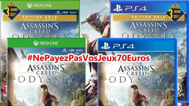 Assassin's Creed Odyssey NePayezPasVosJeux70Euros