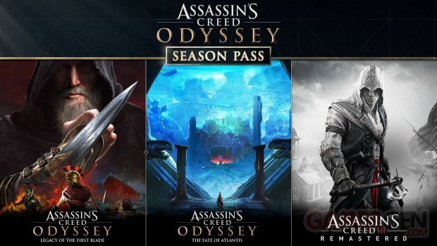 Assassin's Creed Odyssey Season Pass 13 09 2018