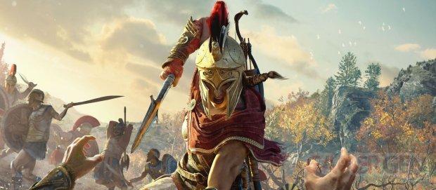 Assassin's Creed Odyssey vignette test 01 20 2018