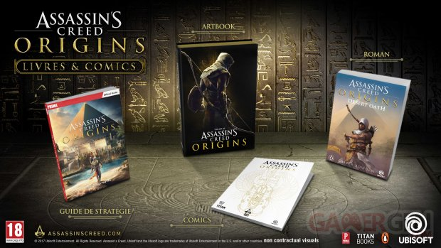 Assassin's Creed Origins 07 07 2017 livres (4)