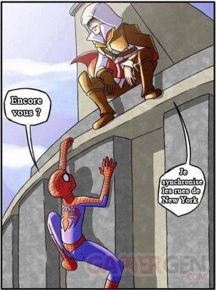 assassin's creed spiderman
