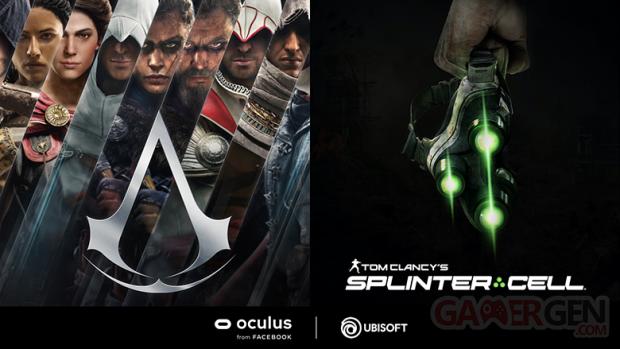 Assassin's Creed Splinter Cell VR Oculus