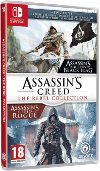 Assassin's Creed The Rebel Collection jaquette espagnole