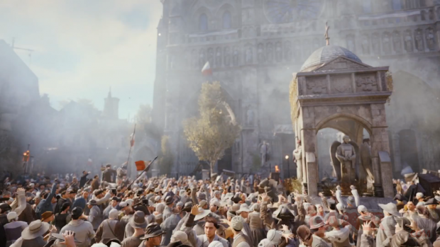 Assassin's Creed Unity trailer gameplay 14 juillet 2014