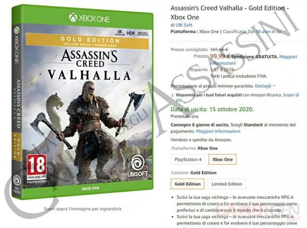 Assassin's Creed Valhalla date AssassinCrypt