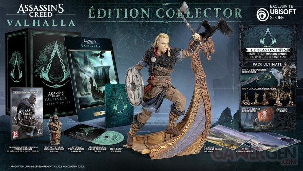 Assassin's Creed Valhalla édition collector 30 04 2020