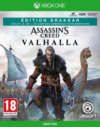 Assassin's Creed Valhalla édition Drakkar Micromania jaquette Xbox One 01 05 2020