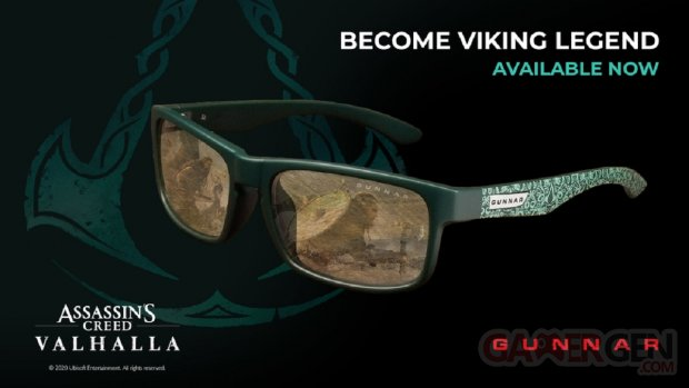 Assassin's Creed Valhalla Edition Enigma Gunnar Lunettes
