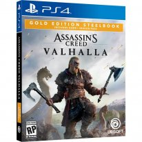 Assassin's Creed Valhalla édition Gold Steelbook jaquette PS4 01 05 2020