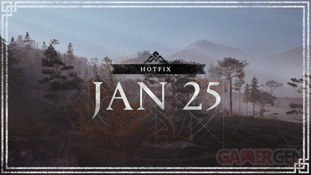 Assassin's Creed Valhalla Hotfix 25 01 2021