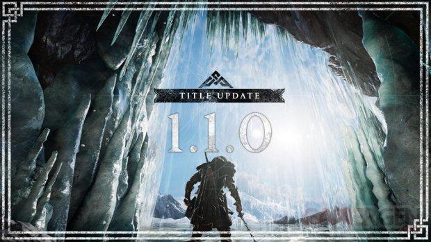 Assassin's Creed Valhalla mise à jour 1 1 0