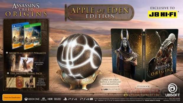 Assassins Creed Origins Apple of Eden Edition 13 07 2017