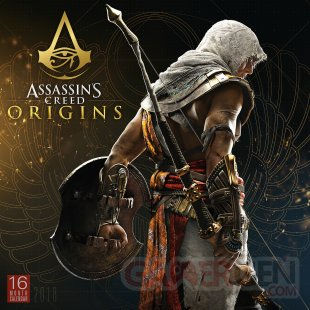 Assassins Creed Origins calendrier 2018 1 13 07 2017