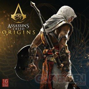 Assassins Creed Origins calendrier 2018 1 13 07 2017