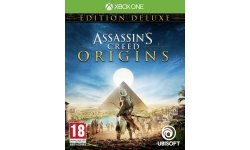 Assassins Creed Origins jaquette édition Deluxe Xbox One