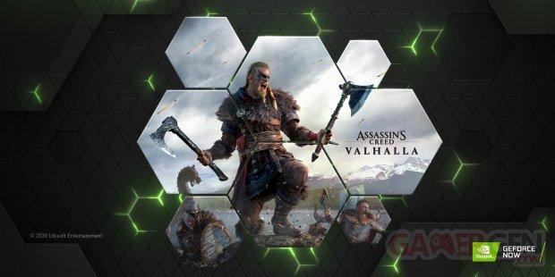 Assassins Creed Valhalla on GeForce NOW