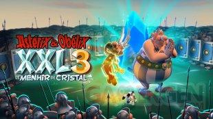 Astérix et Obélix XXL 3 Le Menhir de Cristal artwork logo 13 08 2019
