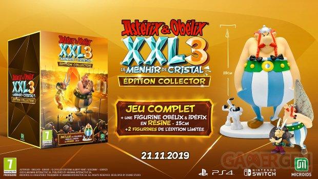 Astérix et Obélix XXL 3 Le Menhir de Cristal collector 13 08 2019