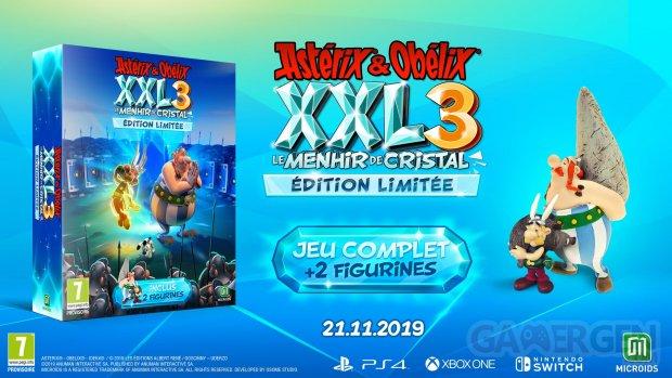 Astérix et Obélix XXL 3 Le Menhir de Cristal édition limitée 13 08 2019