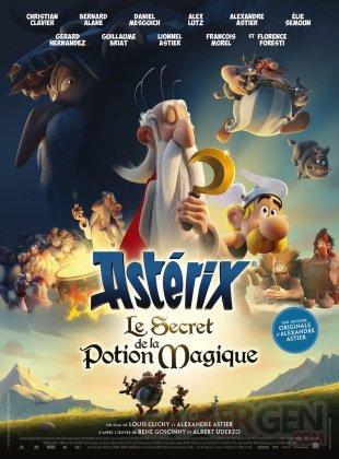 Astérix Le Secret de la Potion Magique affiche 23 10 2018