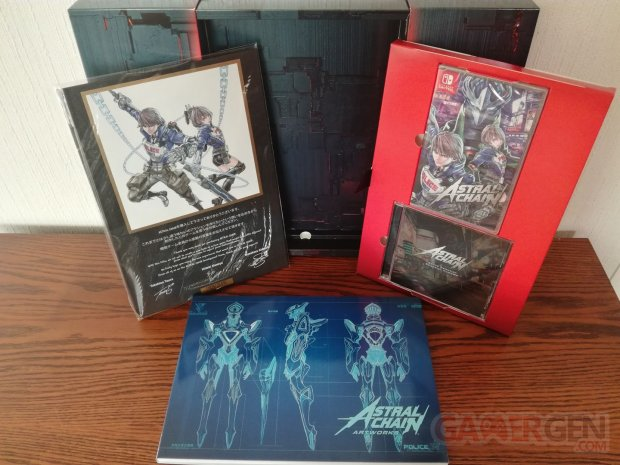 Astral Chain unboxing déballage collector 07 04 09 2019