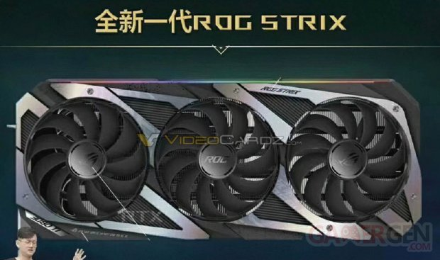 ASUS GeForce RTX 3080 Ti ROG STRIX Leak VCZ