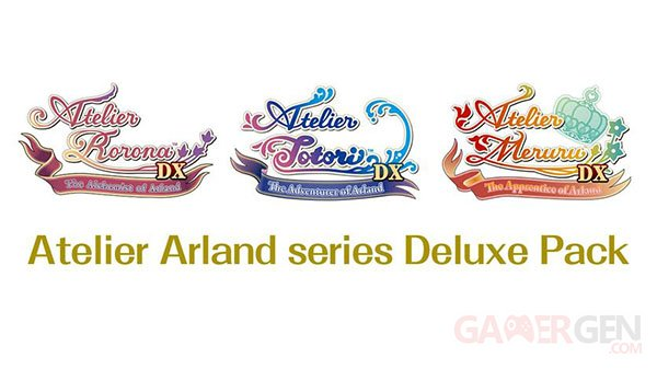 Atelier Arland series Deluxe Pack 26 09 2018