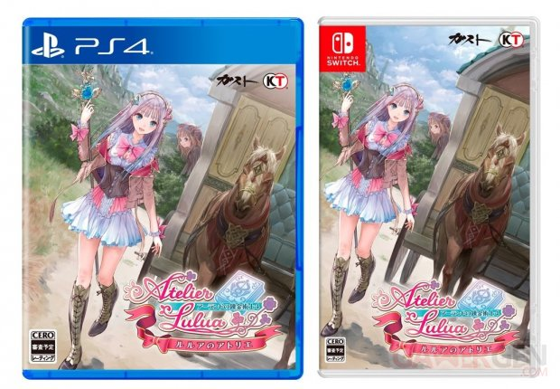 Atelier Lulua The Scion of Arland jaquettes 25 12 2018