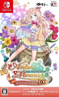 Atelier Meruru DX jaquette Nintendo Switch 10 08 2018