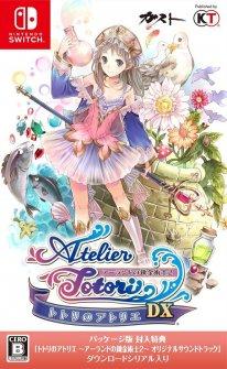 Atelier Totori DX jaquette Nintendo Switch 10 08 2018
