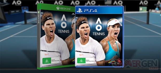 Australian Open Tennis PS4 XBoxOne Packshots