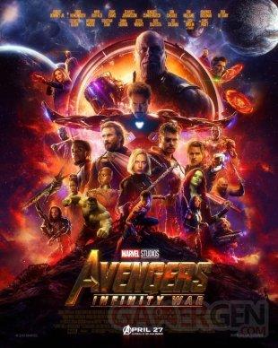 Avengers Infinity War poster 16 03 2018