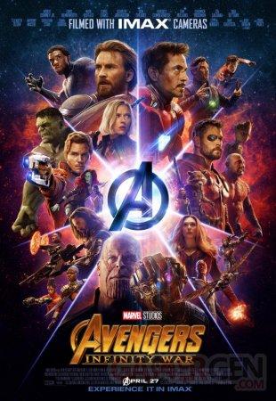 Avengers Infinity War poster 23 08 04 2018