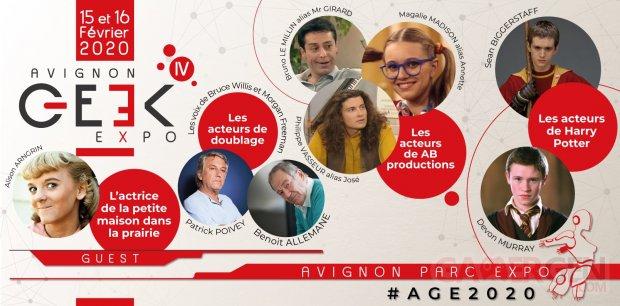 Avignon Geek Expo Guests