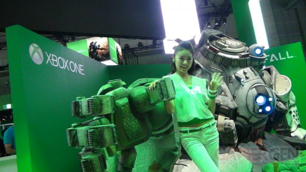 Babes Microsoft TGS 2013 Tokyo Game Show 22.09 (5)