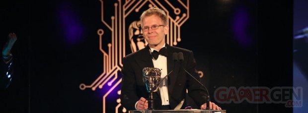 Bafta Games Awards head 2016