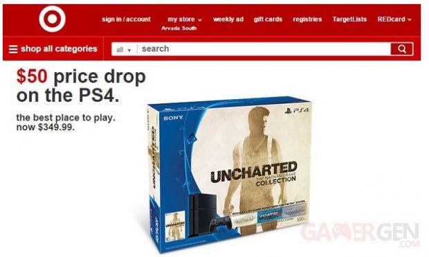 Baisse de prix PS4