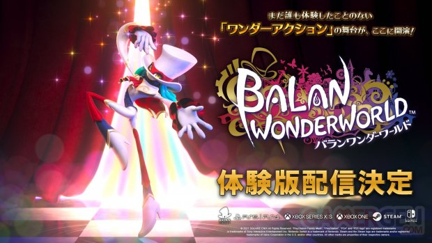 Balan Wonderworld démo jp 19 01 2021