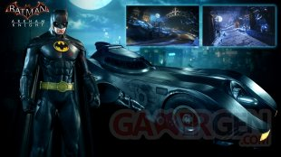 Batman Arkham Knight 14 07 2015 Batmobile with Batman skin 1989