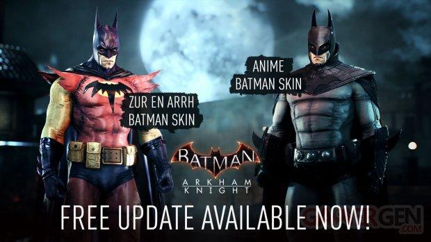Batman Arkham Knight update 1 15 Zur en Arrh Anime skin