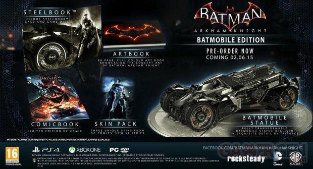 batman knight batmobile edition