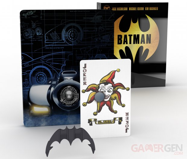 Batman Steelbook Coffret Collector Titans of Cult
